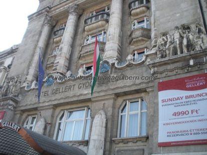 fachada Hotel Balneario Géllert