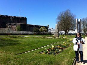 jardines y murallas del Castillo
