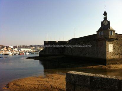 ciudadela Ville Close, y puerto