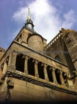 Abadía y Campanile de la Iglesia abacial