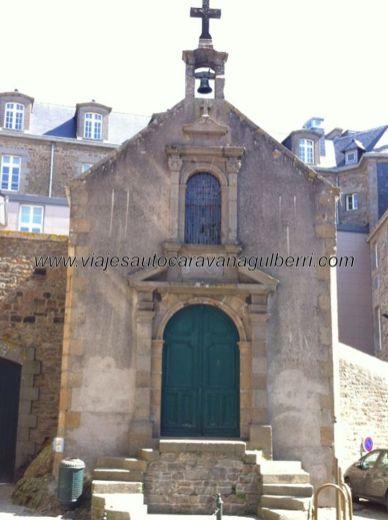 Capilla de Saint Aaron, de comienzos del XVII, pocas referencias tan antiguas quedan en Saint Malo