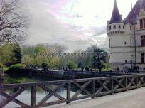 Castillos Loira - Azay le Rideau - lago
