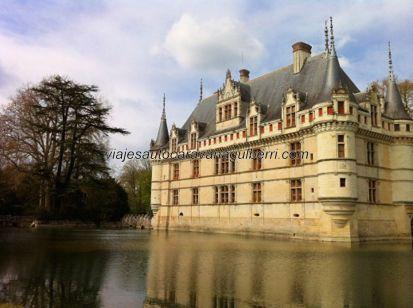 Castillos Loira - Azay le Rideau