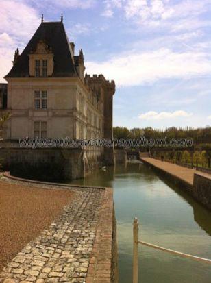 Castillos Loira - Villandry - foso