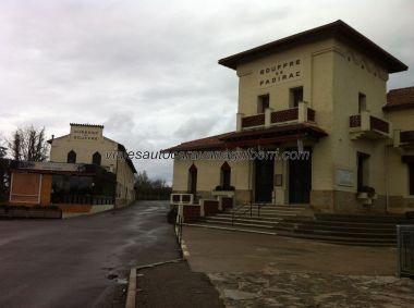 entrada a la Gouffre de Padirac