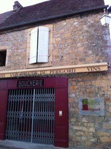 Le Cellier du Périgord en Domme; ya vimos esta franquicia culinaria en Sarlat
