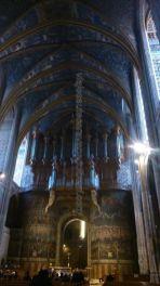 la otra joya de la catedral: su magnífico órgano, sobre el altar mayor
