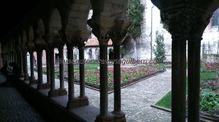 Claustro de la Colegiata de Saint Salvy, un encanto