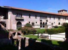 interior de la fortaleza, hoy, no podía ser de otro modo, museo