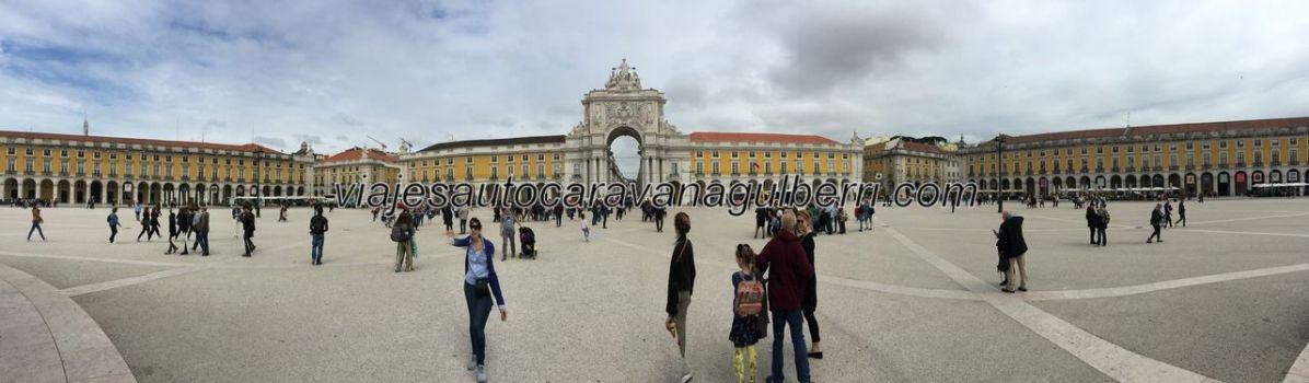 panorámica de Praça do Comercio, Lisboa