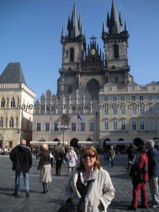 Iglesia Ntra Sra en frente de Týn