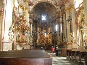 nave principal Iglesia San Nicolás