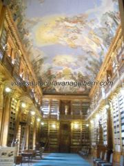 Sala Filosófica en Monasterio Strahov