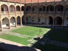 claustro Colegio Mayor Fonseca
