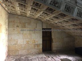 detalle bajo escalinata Convento San Esteban