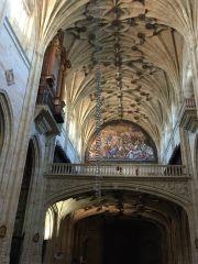 coro y órgano iglesia Convento San Esteban