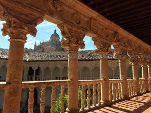 Catedral desde galería Convento Dueñas
