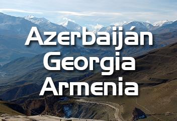 azerbaiján, georgia, armenia
