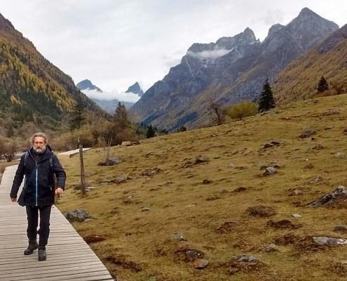Diferentes imágenes de las Montañas Siguniang