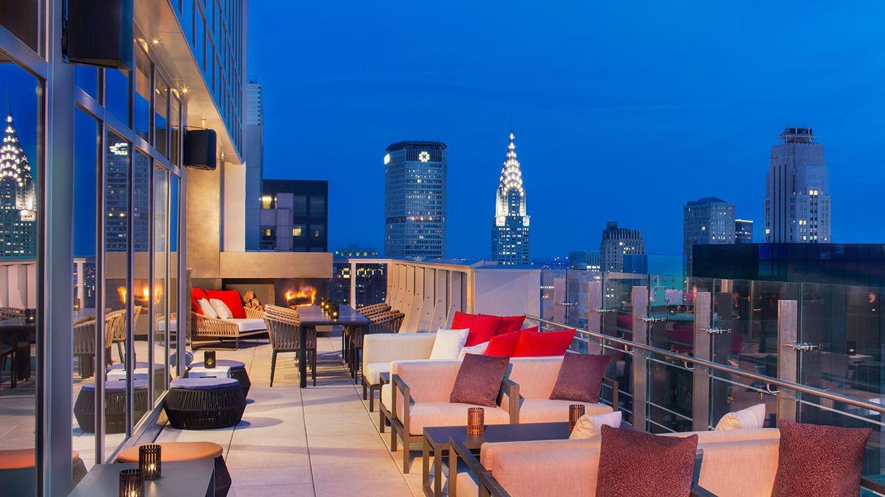 Las Mejores Terrazas Con Vistas De Nueva York Azul Marino