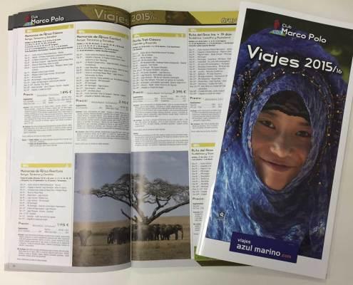 Catálogo Viajes Azul Marino