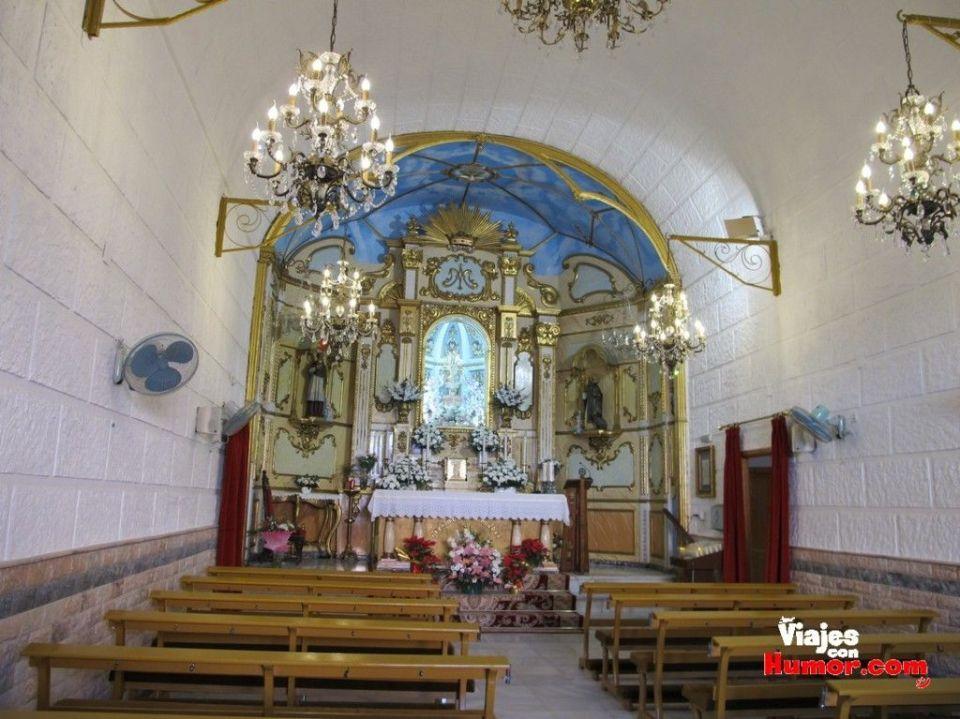 capilla virgen de loreto patrona santa pola