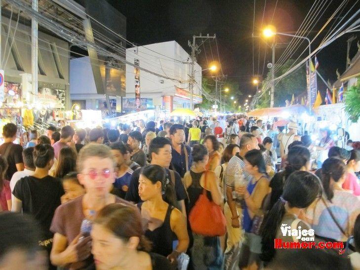 mercado nocturno chiang mai