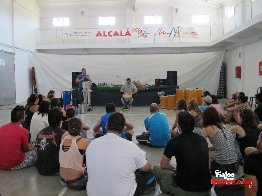 taller de percusion etnosur alcala la real
