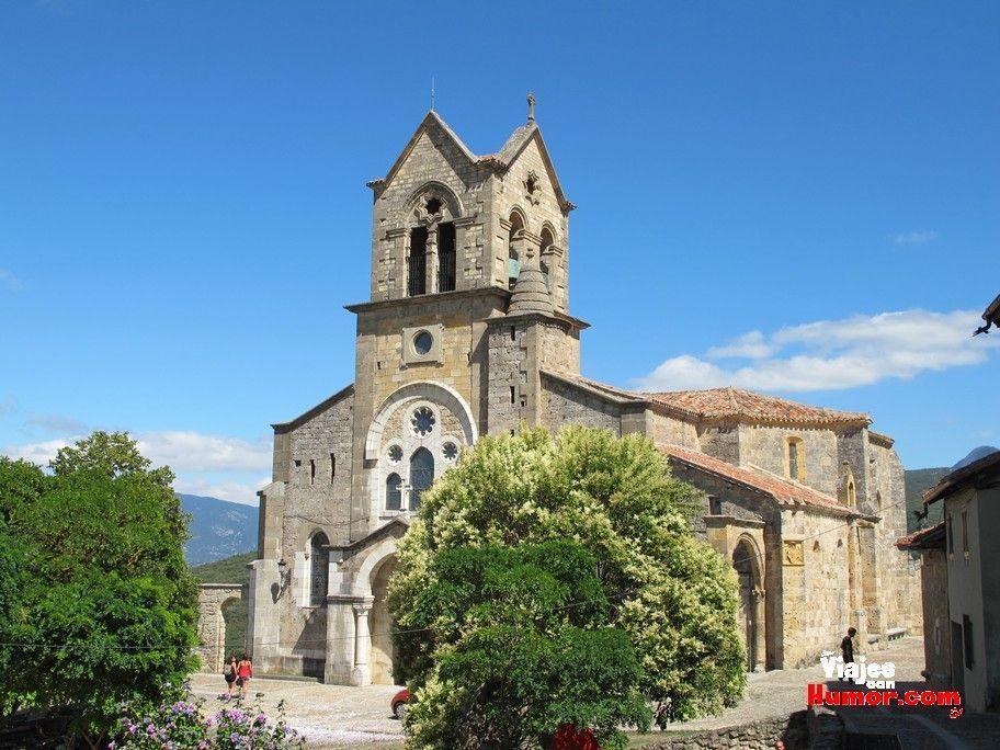 iglesia de san vicente ciudad de frias burgos