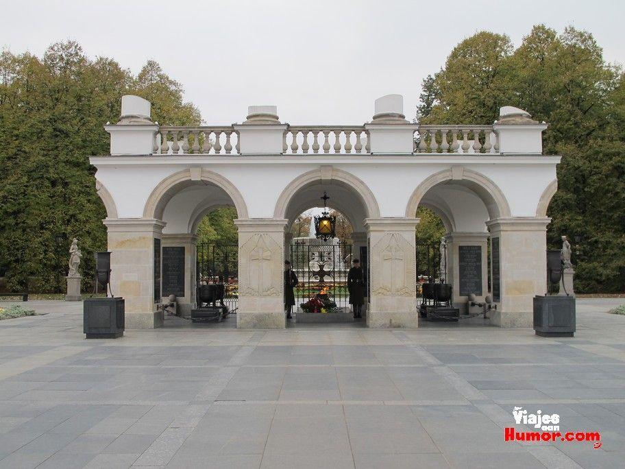 tumba soldado desconocido varsovia