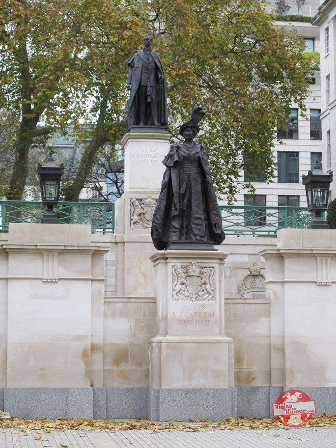 Jorge VI y Elizabeth reyes de Inglaterra