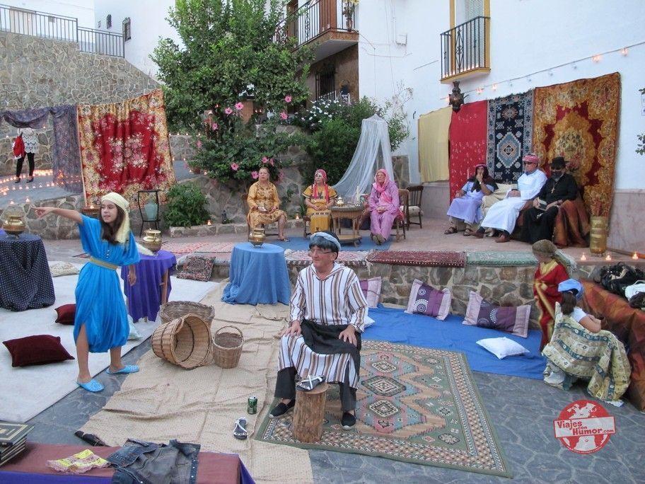 familia festival de la luna mora de guaro malaga