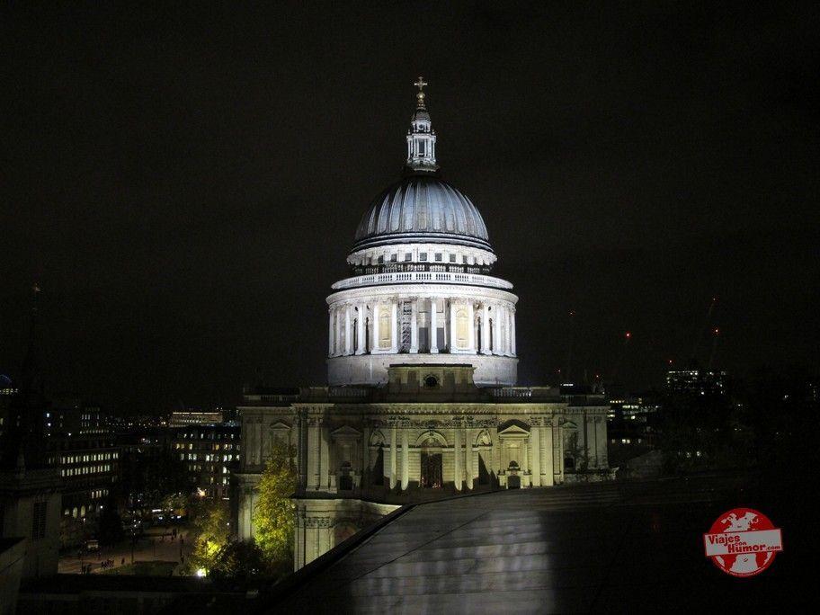 vistas catedral de San Pablo en Londres