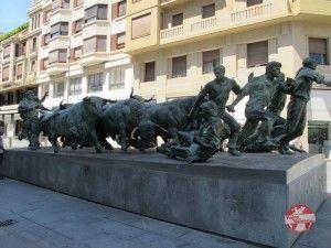monumento al encierro pamplona