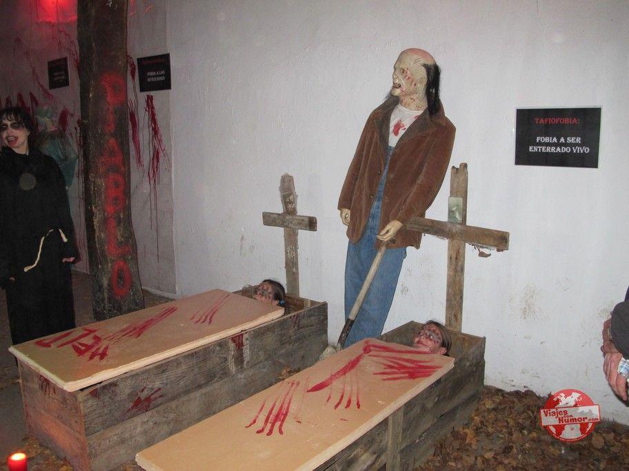 museo de las fobias terrorifrias