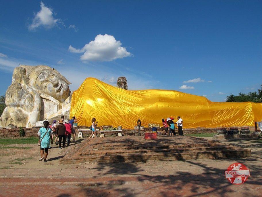buda tumbado Wat Lokkayasutharam