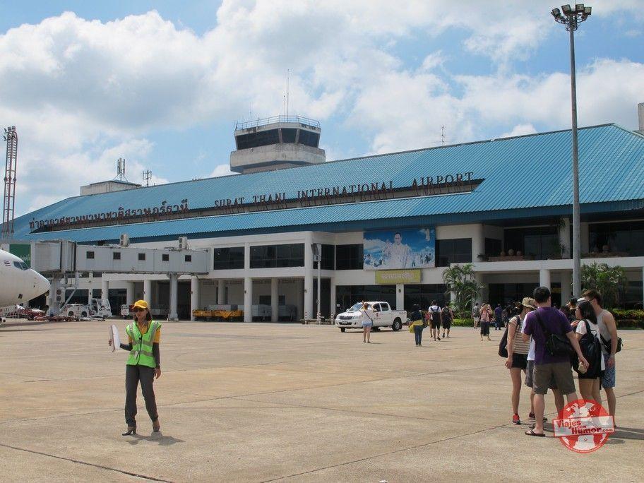 aeropuerto surat thani
