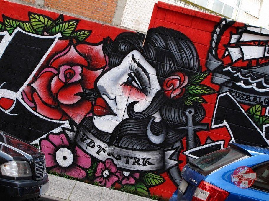 cara graffiti la bañeza