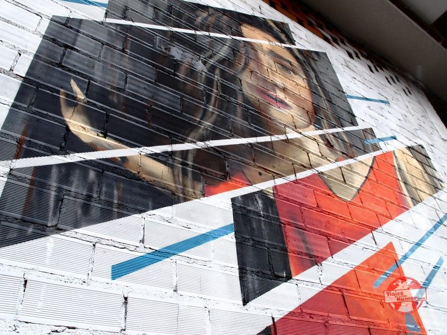 graffiti niña la bañeza