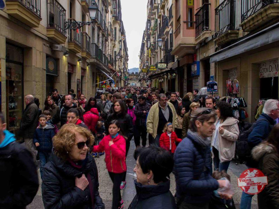calle mayor san sebastian