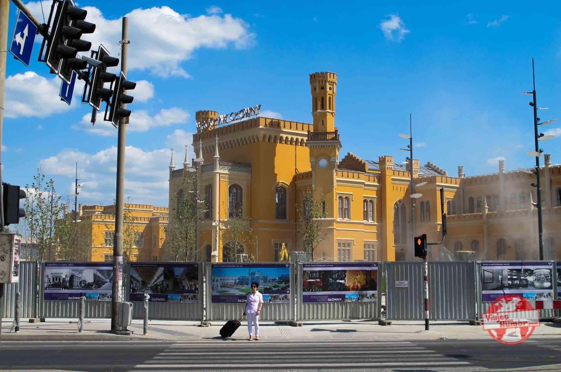 estacion de tren de Wroclaw