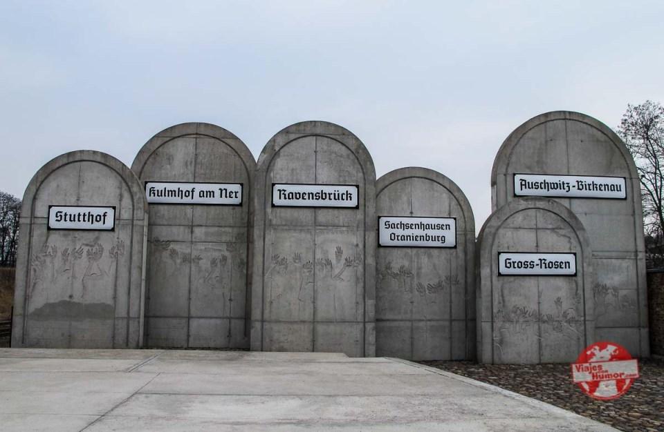 memorial victimas holocausto lodz