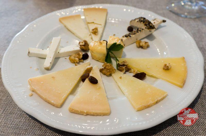 tipos de quesos en zuheros