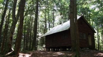 "Nuestra ""log cabin"" en White Mountains National Forest"