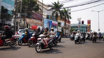 Tráfico en Jakarta