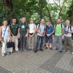 Parte de los miembros de la expedición Lengguru 2014.