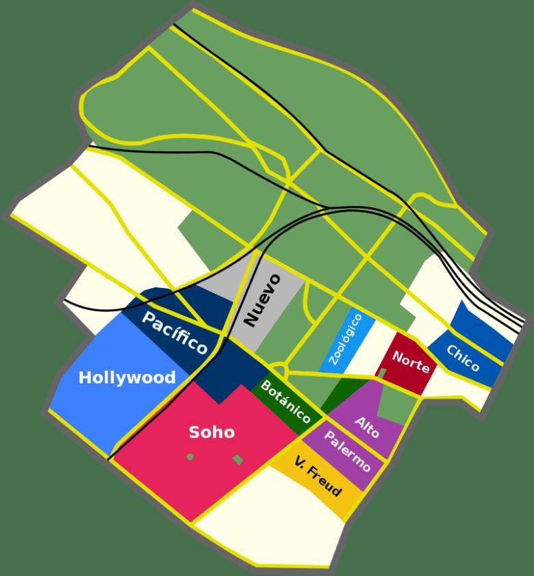 distritos de palermo