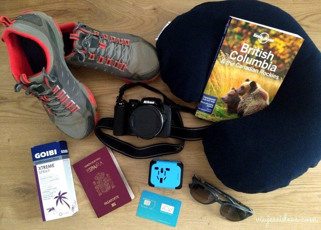 Preparativos para viajar a Canadá