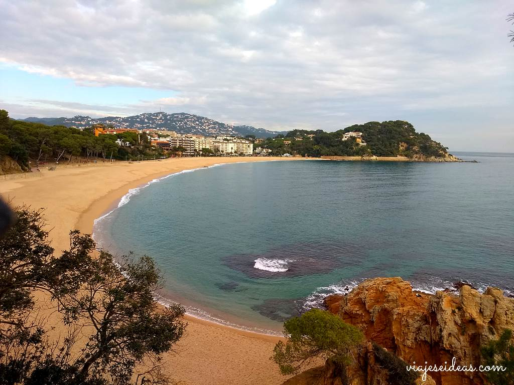 Playa de Fenals, Lloret de Mar