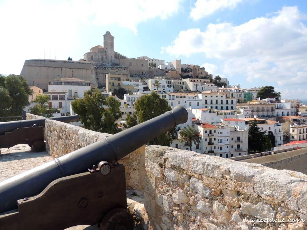 Dalt Vila, fin de semana en Ibiza